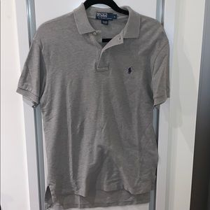 Men's gray Ralph Lauren polo